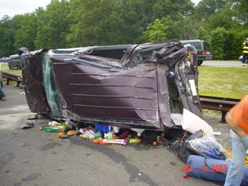 Motor Vehicle Accident On Garden State Parkway